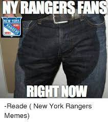 Meme Ny - ny rangers fans new york meme right now reade new york rangers