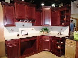Red Kitchen Backsplash Ideas Kitchen Backsplash Ideas With Cherry Cabinets Cabin Kids