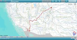 Colorado River Texas Map by Map Of Colorado River My Blog