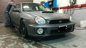 wrx subaru grey just dipped my 02 wrx anthracite grey i love it subaru