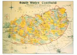 Map Of Wales Maps Of The South Wales Coalfield U2013 Glamorgan Archives