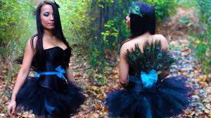 Womens Peacock Halloween Costume Diy Easy Peacock Costume