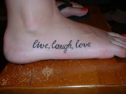 live laugh love tattoo design for wrist real photo pictures