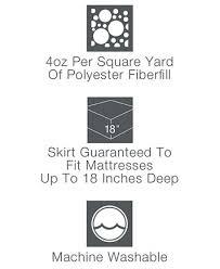 home design waterproof mattress pad closeout home design waterproof mattress pads down alternative