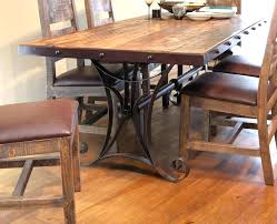 Rod Iron Dining Room Set Wrought Iron Dining Table Bases Table Base Table Legs Wrought Iron