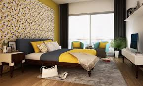 Bed Designs For Master Bedroom Indian Buy Classical Canary Master Bedroom Online In India Livspace Com