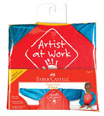 amazon com faber castell young artist smock washable art smock