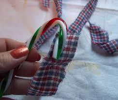 Christmas Home Decor Crafts Primitive Homespun Christmas Candy Canes Hometalk