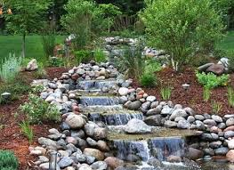 Backyard Waterfalls Ideas Stylish Garden Ponds And Waterfalls 50 Pictures Of Backyard Garden