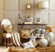 Metallic Home Decor   silver and gold decor mix metallic home decor december s color