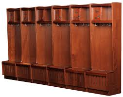 Lockers For Home by Open Wood Lockers Wood Lockers For Athletic Locker Rooms All
