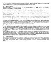 nht home theater speakers pdf manual for nht speaker vs 1 4