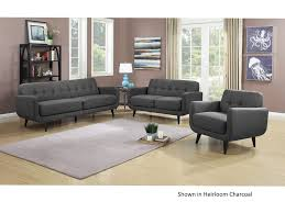 Hadley Bistro Chair Elements Hadley Charcoal Sofa Loveseat Priceco Furniture Store