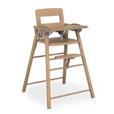 chaise haute b b en bois chaise haute baby fox meubles de maison