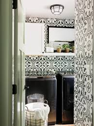 Black And White Powder Room Rooms Viewer Hgtv
