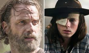 Rick Grimes Crying Meme - the walking dead season 8 carl grimes betrayed by rick grimes from