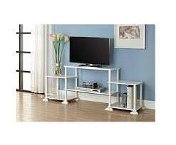Media Console Tables by Amazon Com White Tv Stand For Tvs Up To 40