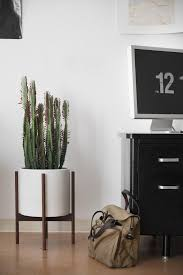 indoor modern planters best 25 midcentury planter accessories ideas on pinterest