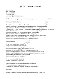 resume objective for technician resume quality control quality assurance analyst resume resume 2 cover letter resume objective qa resume samples doc format ressamplesample qa test technician resume extra medium