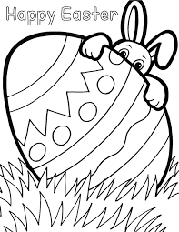 printable easter coloring sheets