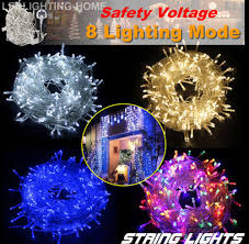 outdoor cing lights string led electric string fairy lights indoor outdoor xmas christmas party