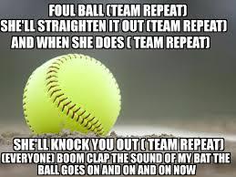 best 25 softball cheers ideas on pinterest inspirational