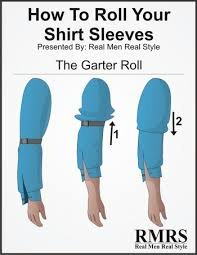 5 ways to roll up shirt sleeves sleeve folding methods for men