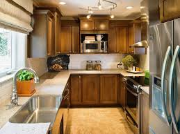kitchen brown kitchen cabinets stainless steel sink and faucet