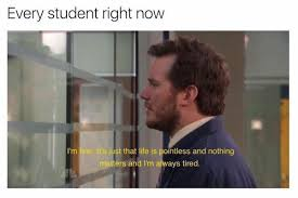 combat the crushing defeat of your college semester with a few memes