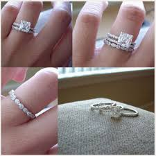 promise engagement rings images 19 gorgeous stacked wedding rings promise engagement and ring jpg