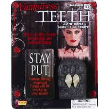 how to dress as a vampire for halloween amazon com vampiress fangs toys u0026 games