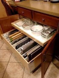 kitchen island drawers lovely kitchen island drawers ideas baking storage pan storage jpg