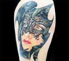 15 best mask tattoo designs