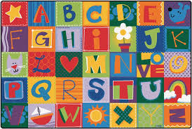 Classroom Rugs On Sale Toddler Alphabet Blocks Rug Alphabet Area Rug For Kids