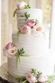 white wedding cake white wedding cake with soft pink flowers wedding ideas for you