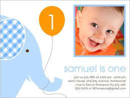 baby birthday invitations 100 images custom photo birthday