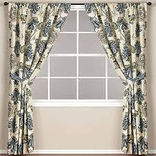 Worldmarket Curtains World Market Tatiana Lined Rod Pocket Window Curtain Panel Bed