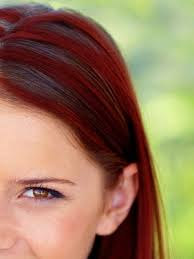 mahogany red hair with high lights you must see the perky effect red highlights have on brown hair