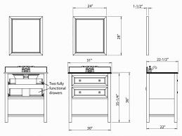 bathroom standard height for bathroom vanity standard height for