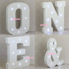 white light up letters letters decorative plaques signs with led ebay