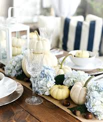white pumpkins fall table white pumpkins hydrangeas it all started with paint
