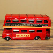 double decker party bus 17 5cm 6 8