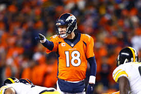 say farewell to peyton manning u0027s u0027omaha u0027 because this could be it