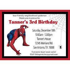 25 best invitations images on pinterest spider man birthday
