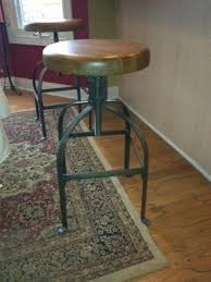 Drafting Table Stools Maple Swivel Bar Stools Foter