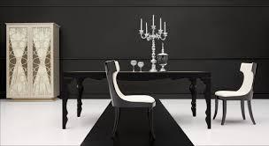 modern black table gorgeous modern black dining table on mesas de jantar m veis e