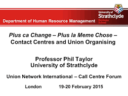 Plus Ca Change Plus Ca Meme Chose - department of human resource management plus ca change plus la