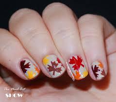nail art leaves u2013 slybury com