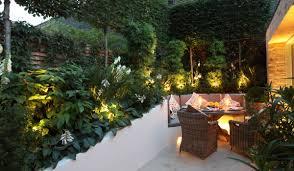 garden lighting design festive garden lighting pinterest