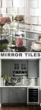 Mirrored Subway Tile Backsplash Bathroom Transitional With by Best 25 Mirror Backsplash Ideas On Pinterest Mirror Splashback